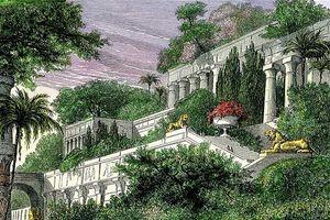 Có tồn tại kỳ quan vườn treo Babylon?