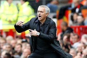 Mourinho mắng học trò: 'Đá với 30% sức là không đủ'