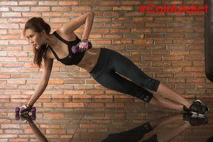 Hoa hậu Tường Linh khoe thân hình săn chắc gợi cảm nhờ tập gym