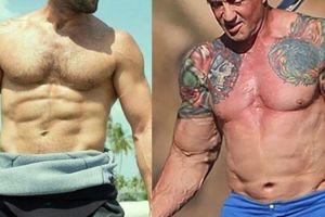 Tiết lộ về cơ bắp đồ sộ của 'Người vận chuyển, Anh hùng Rambo'