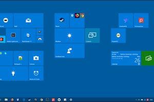 Cách kích hoạt màn hình Start kiểu Windows 8 trong Windows 10