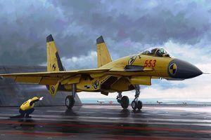 Trung Quốc cho phép tiêm kích J-15 bay đêm