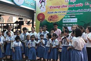 'Trung thu mơ ước' cho 800 em nhỏ tổ chức tại đường sách