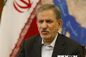 Phó Tổng thống Iran Jahangiri tăng cường quyết tâm chống khủng bố