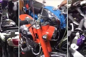 Đột nhập 'kho báu' toàn xe máy độc, khủng của đại gia Việt