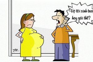 Trưa cười: Ông chồng mừng hụt vì tưởng vợ mang bầu
