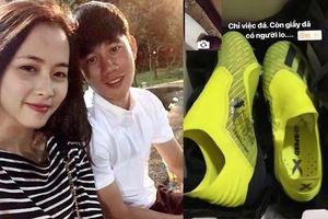 Khoe giày bạn gái tặng, Minh Vương khiến fan thở phào vì khéo léo đập tan tin đồn chia tay