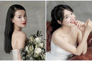 Tóc cô dâu đơn giản mà ăn điểm 100% của Nhã Phương trong bộ ảnh cưới đang gây bão MXH