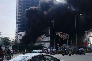 Cháy lớn khu tổ hợp trung tâm thương mại khách sạn cao nhất thành phố Yên Bái