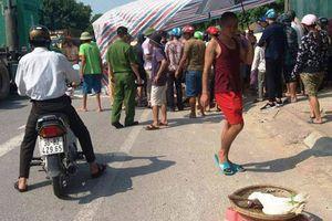 Gánh hàng bên vệ đường, 3 người phụ nữ bị xe tải tông thương vong