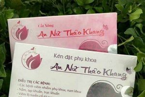 Thu hồi, đình chỉ lưu hành sản phẩm An nữ Thảo Khang