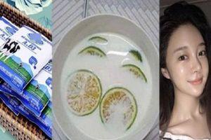 4 bước chăm sóc da buổi tối bằng gói sữa tươi vài nghìn đồng giúp mặt trắng mịn, bóng láng như gái Hàn Quốc