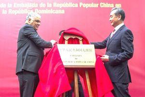 Trung Quốc mở sứ quán ở Cộng hòa Dominica sau khi 'hất cẳng' Đài Loan