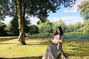 Lan Phương cùng con gái xuất ngoại sau 'Nhật ký đi đẻ' gây sốt