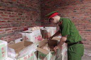 Ngăn chặn hơn 1 tấn trái cây nhập lậu bán vào dịp Trung thu