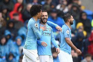 'Vùi dập' Cardiff, Man City tiếp tục áp sát ngôi đầu
