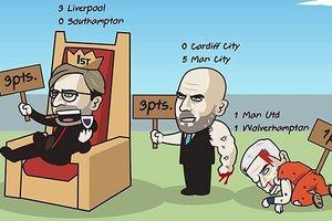 Biếm họa 24h: 'Độc cô cầu bại' Liverpool xin một lần được thua?