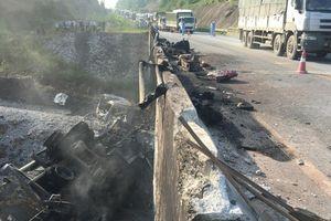 Sau vụ xe bồn nổ gây 'đứt' cao tốc Hà Nội - Lào Cai: Đường tránh ùn ứ, tai nạn giao thông rình rập