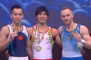 Lê Thanh Tùng giành HCB nhảy chống Cup thế giới