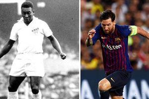 Sớm muộn, Messi cũng sẽ đuổi kịp Pele