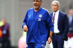 HLV Sarri phát biểu bất ngờ khi Chelsea đứt mạch toàn thắng
