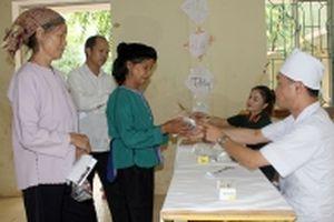Chăm sóc sức khỏe người dân biên giới