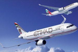 Emirates và Etihad có thể sáp nhập thành hãng bay lớn nhất TG