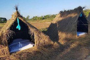 Chiêm ngưỡng khách sạn 'uyên ương' nằm giữa cánh đồng lúa