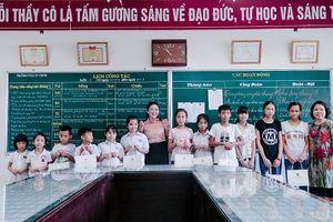 Ấm áp chương trình 'Trung thu yêu thương' tại ngôi trường mang tên 'Hy Vọng'