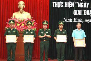 BĐBP Ninh Bình tích cực xây dựng nền biên phòng toàn dân vững mạnh