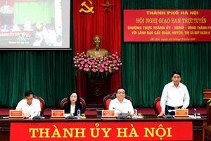 Hà Nội: Tăng cường công tác bảo vệ môi trường và quản lý trật tự xây dựng