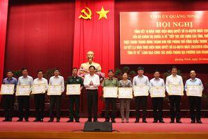 Thường vụ Tỉnh ủy Quảng Ninh xây dựng Kế hoạch thực hiện Nghị quyết 28-NQ/TW