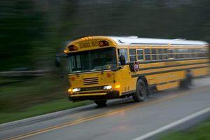 Tài xế xe buýt bị bắt vì cho 3 học sinh cầm lái