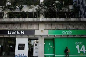 Grab và Uber bị phạt gần 10 triệu USD tại Singapore vì vụ sáp nhập