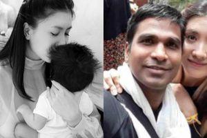 Diễn viên Nguyệt Ánh sinh con trai đầu lòng với chồng Ấn Độ