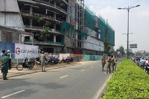 TP.HCM: Tai nạn ở công trình Giga Mall, 3 công nhân nhập viện cấp cứu