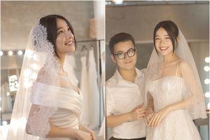 Cận cảnh toàn bộ các mẫu váy cưới và nhan sắc của Nhã Phương trước ngày cưới Trường Giang