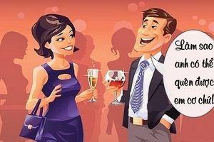 Sáng cười: Chồng gặp họa vì vợ bất ngờ lột xác xinh đẹp