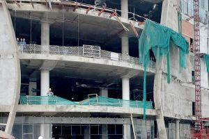 Sập giàn giáo công trình Trung tâm thương mại Giga Mall, 3 công nhân bất tỉnh