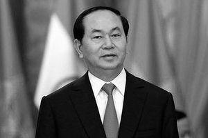 Cơ quan chính phủ Thái treo cờ rủ tưởng niệm CTN Trần Đại Quang