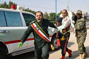 IS tung video 3 nghi phạm trong vụ xả súng đẫm máu ở Iran