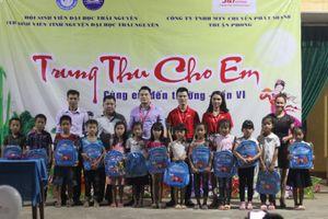 'Chuyển phát nhanh' mang trung thu đến trẻ em nghèo vùng cao