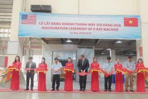 Hoa Kỳ tài trợ máy soi cho hải quan Việt Nam