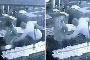 Công nhân chết tức tưởi vì sếp dí máy nén khí vào mông