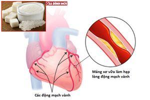 Người bị bệnh động mạch vành có nên ăn đường không?