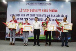 Tuyên dương và khen thưởng các HLV, VĐV đạt thành tích tại ASIAD 18