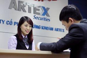 Chứng khoán Artex chào sàn HNX với giá 8.100 đồng/cổ phiếu