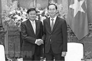 Lào để quốc tang 2 ngày đối với Chủ tịch nước Trần Đại Quang