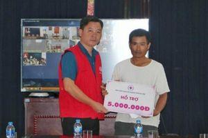 Chung tay hỗ trợ gia đình nạn nhân vụ cháy gần Bệnh viện Nhi Trung ương