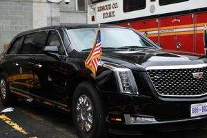 Limousine chống đạn The Beast 2.0 của Tổng thống Mỹ Donald Trump lần đầu lộ diện